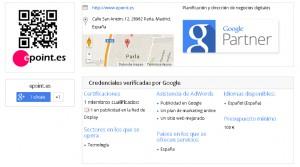 Agencia de publicidada online Partners de Google