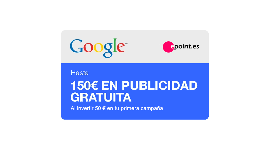 Cupón regalo Google Adwords