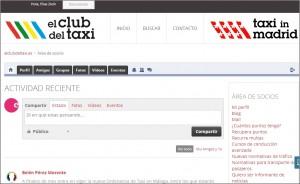la primera red social para el Taxista