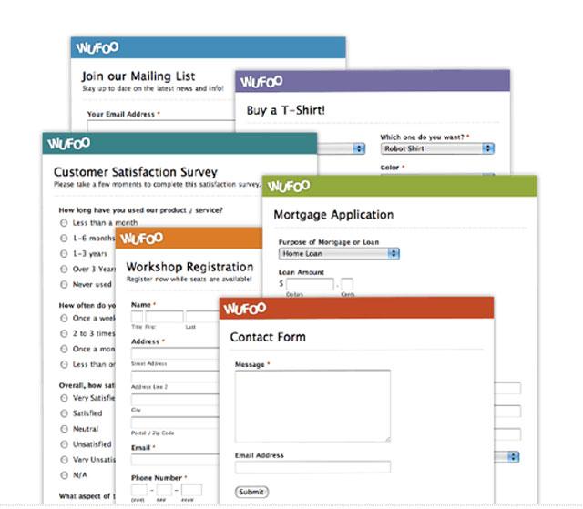 Los 8 mejores constructores de formularios online para tu web | Blog ...